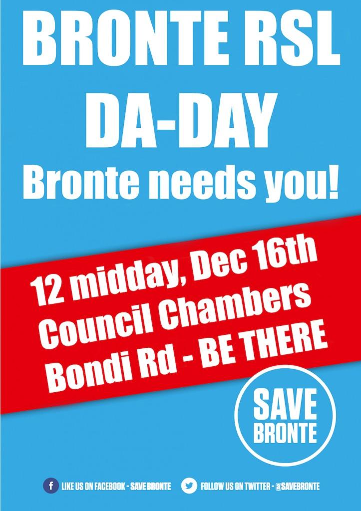 Save Bronte DA day 2015 dec 1000
