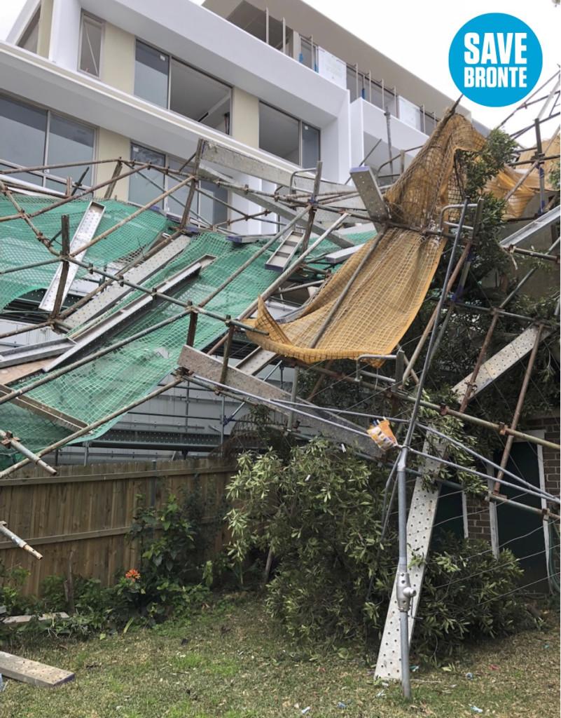 scaffold collapse save bronte 2018